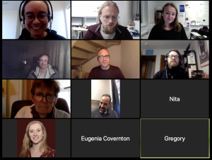 Kickoff Webinar Attendees Screenshot